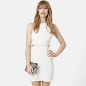 White Topshop Mini dress